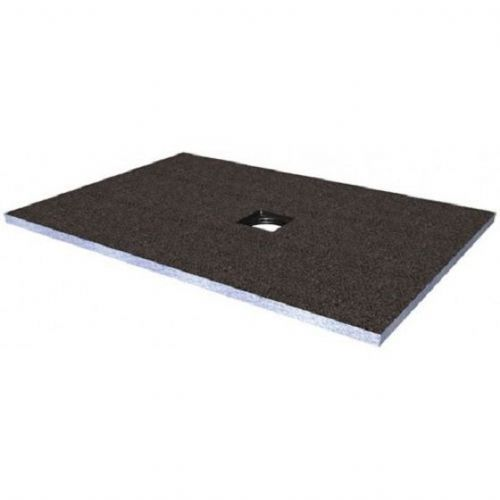 Abacus Elements Rectangular Standard Shower Tray 30mm High With Centre Drain - 1800mm x 900mm